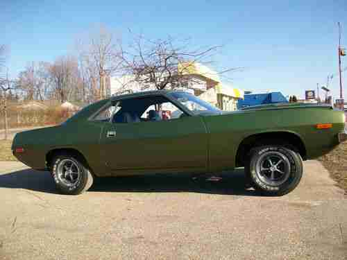 Sell Used 72 Cuda 340 4 Speed Recent Barn Find In Imlay