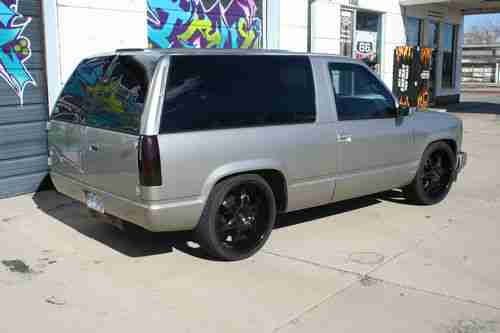 Tahoe Black Chevrolet 1999