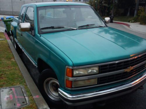 Sell Used 1993 EXTRA CAB CHEVROLET SILVERADO CHEVY TRUCK