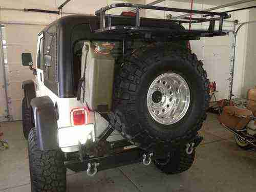 Purchase Used Jeep TJ Tricked Out With All The Off Road