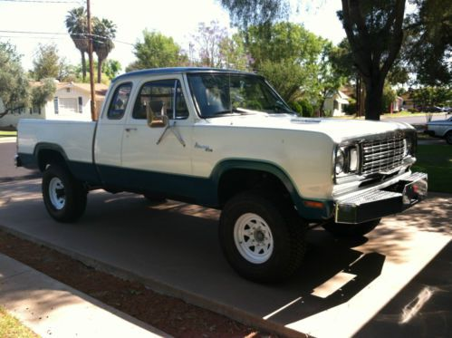 Purchase Used 1977 Dodge Power Wagon Club Cab Short Bed