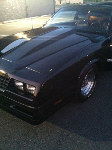 Sell Used 86 Monte Carlo Ss In Burlington North Carolina