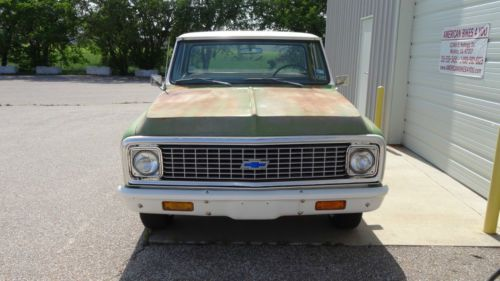 Purchase Used 1971 Chevrolet C10 Pickup Short Bed Step
