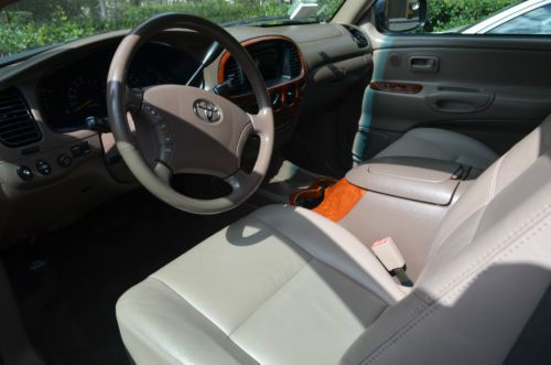 Sell Used Beautiful 2003 Toyota Tundra Red Pearl Leather
