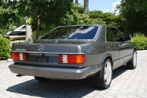 Purchase Used 1985 Mercedes Benz 500 Sec Coupe 5 0l V8 4
