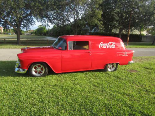 Sell Used 1955 Chevy Restomod Video Inside 2 Door Post