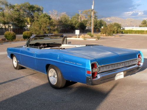 Sell Used 1968 Ford Galaxie 500 Convertible In Albuquerque