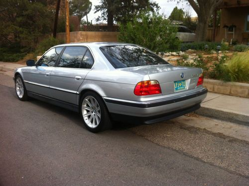 Buy Used 1996 Bmw 740il Sedan 4 Door 4 4l V8 Silver With