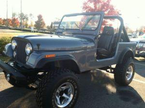 Sell used 1982 JEEP CJ7, COMPLETE FRAME OFF REBUILD, AMC