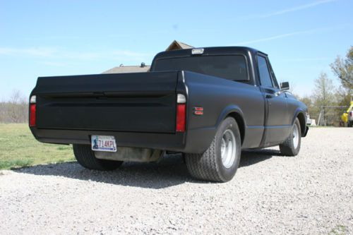 Purchase New 72 Chevy Short Wide Tubbed Lowered New Paint