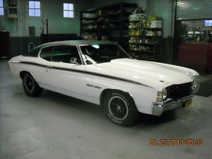 Buy used 1971 CHEVELLE HEAVY CHEVY BIG BLOCK in Staten