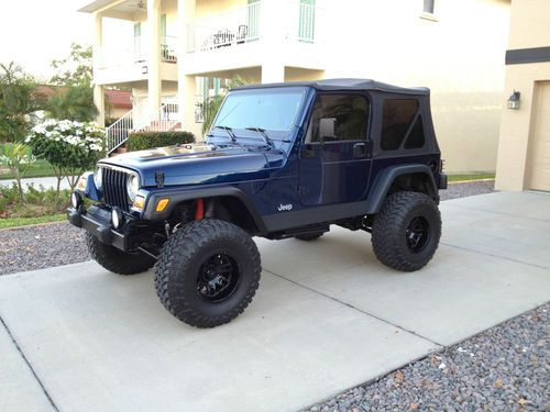 Buy Used 2002 Jeep Wrangler Sport 40 Lifted Super Clean