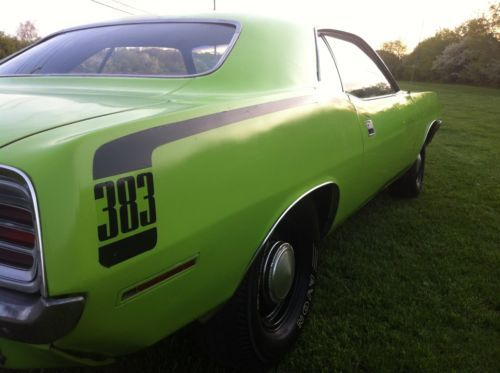 Purchase New 1970 Plymouth Barracuda Real Big Block 440