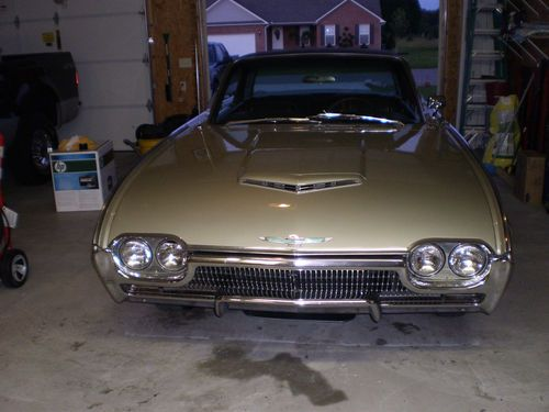 Find Used 1963 FORD T BIRD LANDAU RARE CHAMPAGNE COLOR In