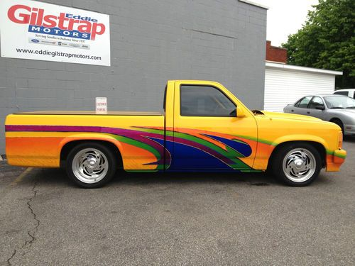 Find Used 1995 Dodge Dakota Custom Built Bagged Show