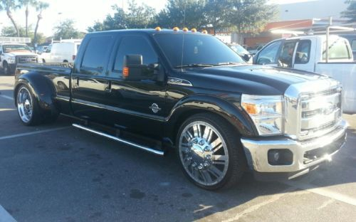 Find Used 2012 Ford F350 Dually Lowered On 26s Balck
