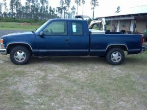 Buy used 98 Chevy Silverado C1500 extended Cab 3rd door in