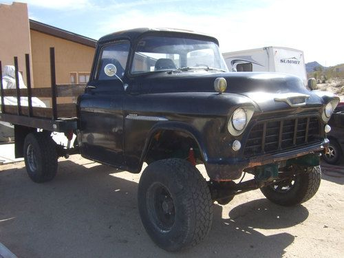 Find Used 1955 12 Chevrolet 3800 Big Window Truck 4x4