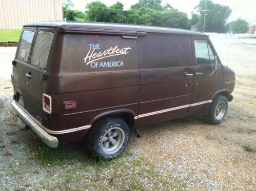 Buy Used CUSTOM Chevrolet G20 Van Short Wheel Base In