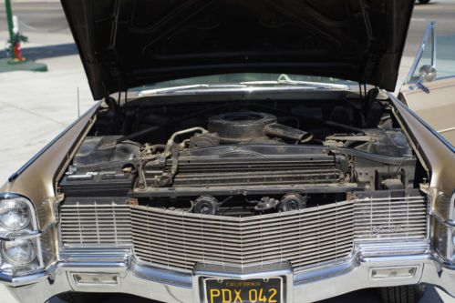 Purchase Used 1965 Cadillac Fleetwood Brougham 56k Actual
