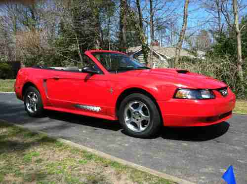 Purchase Used 2003 Ford Mustang Convertible In Northport New York United States