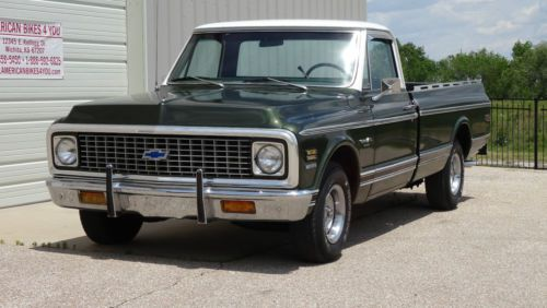 Buy Used 1971 Chevrolet Chevy C10 Pickup 1 2 Ton Long Bed