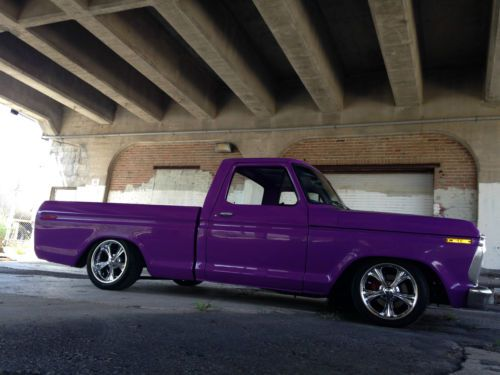 Sell Used 1975 Ford F100 F150 Shop Truck Bagged Patina