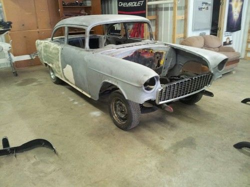 Buy used 1955 Chevy 2 door sedan 210 project car in Faribault     1955 Chevy 2 door sedan 210 project car