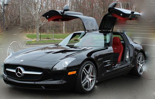 Purchase New 2012 Mercedes Benz Sls Amg Base Coupe 2 Door
