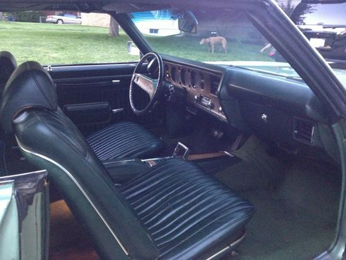 Buy Used 1970 Monte Carlo With 454 Bucket Seats Tach