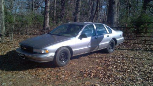 Buy Used 1995 Chevrolet Caprice 9c1 Police Car In Rocky Mount Virginia United States