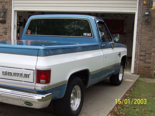 Find Used 1984 Chevy Pickup Blue Amp White In West Fork