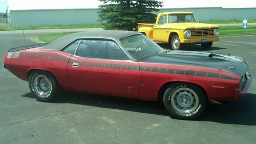 Buy Used 1970 Plymouth Aar Cuda Barracuda 70 Dodge