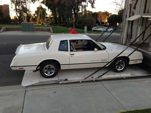 Purchase Used 1983 Monte Carlo SS Only 1200 Miles