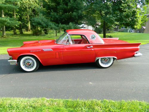 Purchase Used 1957 Ford Thunderbird T Bird In Pataskala
