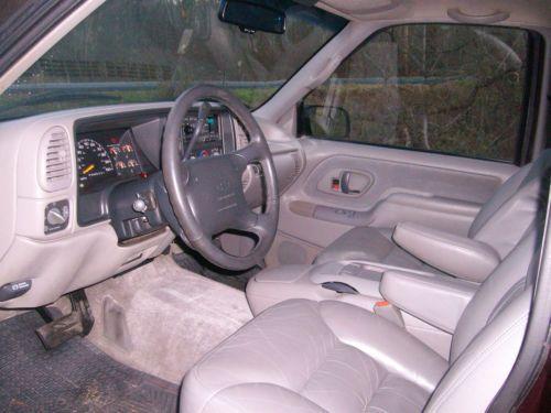Find Used 1996 CHEVY TAHOE SPORT 2 Door 4x4 LOW MILES
