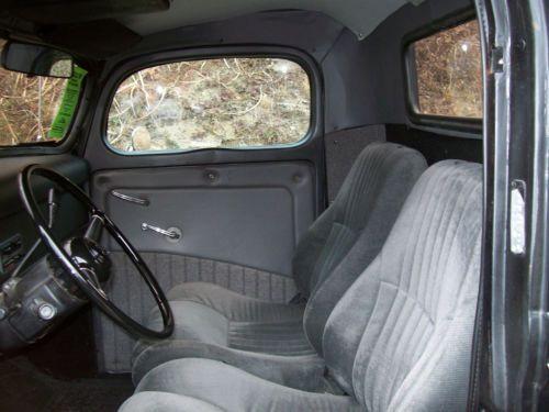 Find Used 1940 Ford Custom Pick Up Truck Flat Black V8