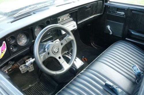 Buy Used 1985 Chevy S10 Custom V8 Shaved Door Handles