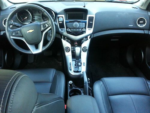 Find Used 2011 Chevy Cruze LT Silver Fully Loaded In