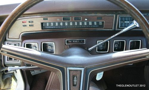 Sell Used Demolition Derby Car 1970 Lincoln Continental Solid Low Mileage 460 C I Car No In