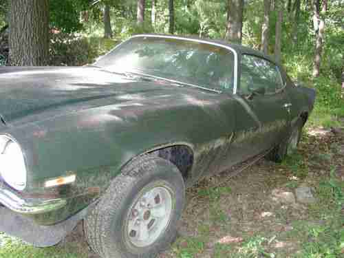 Sell Used 1972 Camaro Z 28 4 Speed Restoration Project In