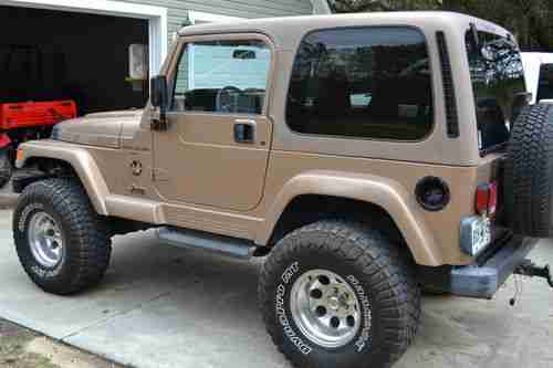 Sell Used 1999 Jeep Wrangler Sahara Sport Utility 2 Door 4