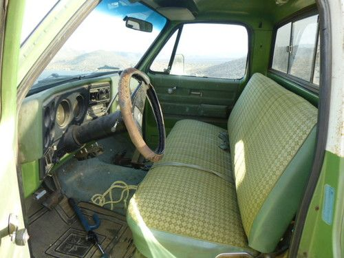Buy Used 1975 Chevy Truck Pick Up Runs Great Good Work