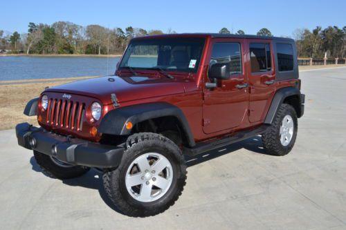 Buy Used 2007 Jeep Wrangler Sahara 4 Door Hard 4x4 Top