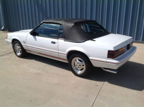 Buy Used 1984 1 2 Ford Mustang Gt350 Convertible 20th Anniversary Limited Edition In Delphos