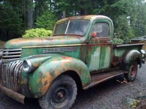 Find new 1941 Chevrolet 12 ton truck Art Deco Classic in