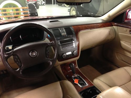 Find Used GREAT 2007 Cadillac DTS Deville Red Over Tan