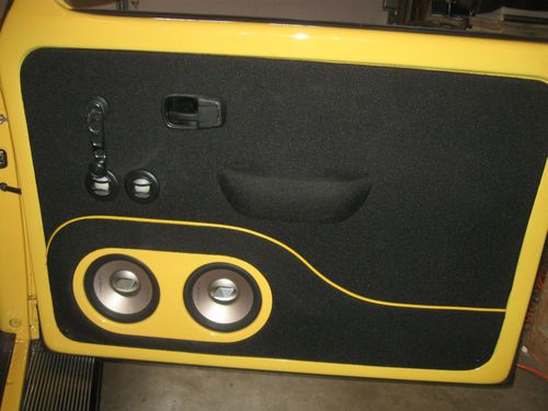 Find Used 1972 Vw Bug Custom Pan Off Restoration Show Car With Massive Stereo In San Diego