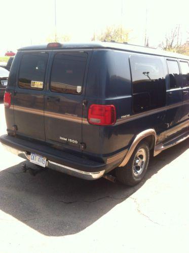 Buy Used 2000 Dodge Ram 1500 Van Prime Time Custom No Reserve In Brighton Michigan United States