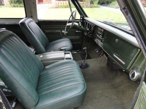 Find Used 1972 Chevrolet Blazer Cheyenne Pkg 4x4 350 V8 Ac Bucket Seats Removable Top In